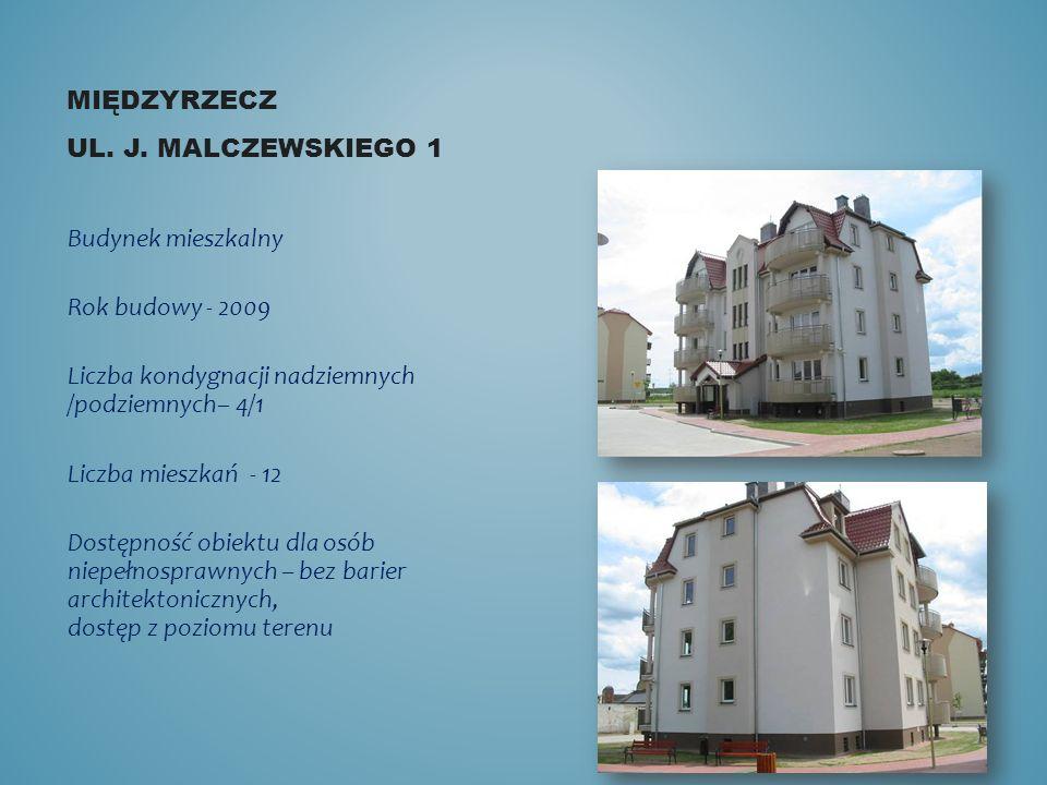 Międzyrzecz ul. J. malczewskiego 1