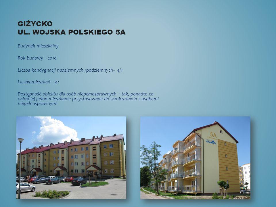 Giżycko ul. Wojska polskiego 5a