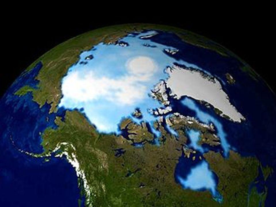 Biegun Pn.- zdjęcie z satelity.