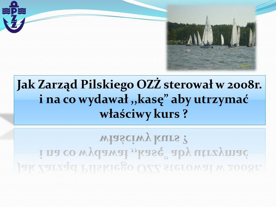 Jak Zarząd Pilskiego OZŻ sterował w 2008r