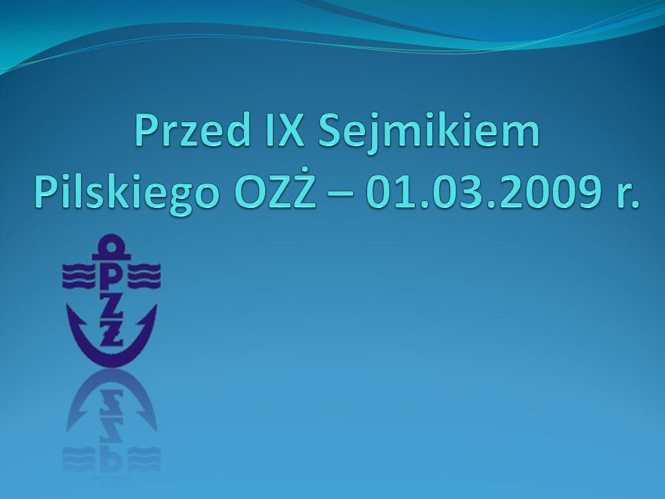 Przed IX Sejmikiem Pilskiego OZŻ – 01.03.2009 r.