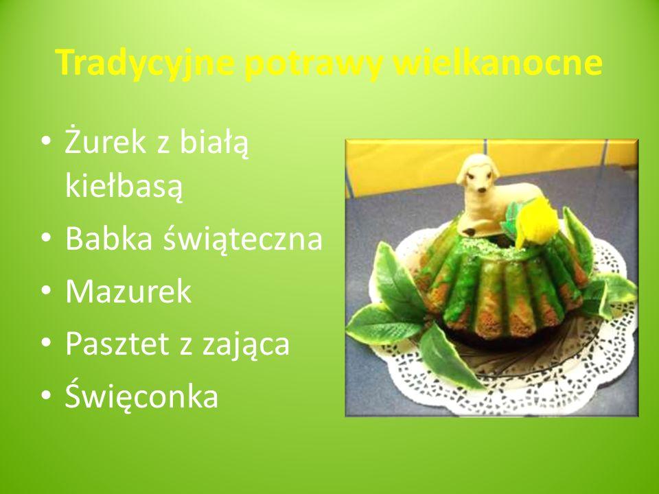 Tradycyjne potrawy wielkanocne