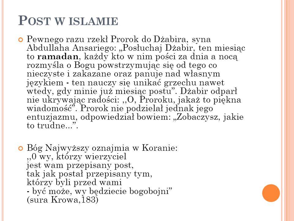 Post w islamie