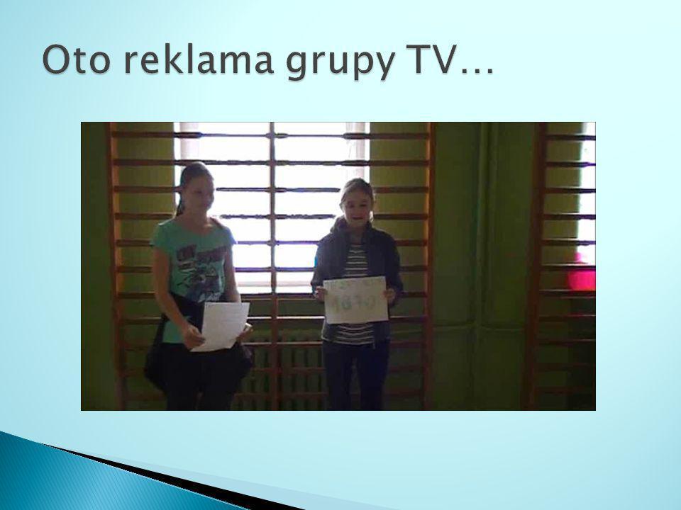 Oto reklama grupy TV…