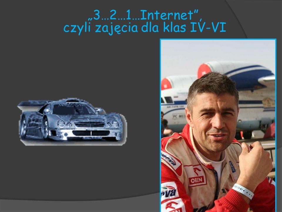 """""""3…2…1…Internet , czyli zajęcia dla klas IV-VI"""