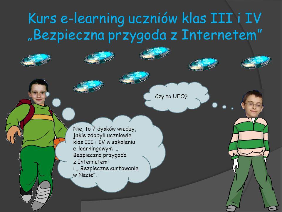 Kurs e-learning uczniów klas III i IV