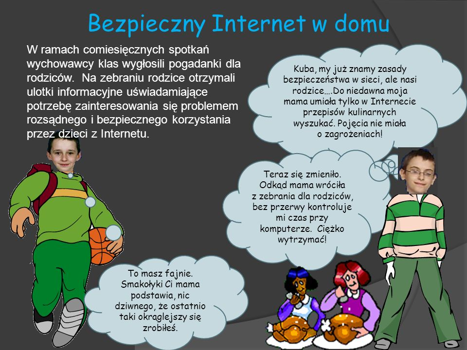 Bezpieczny Internet w domu