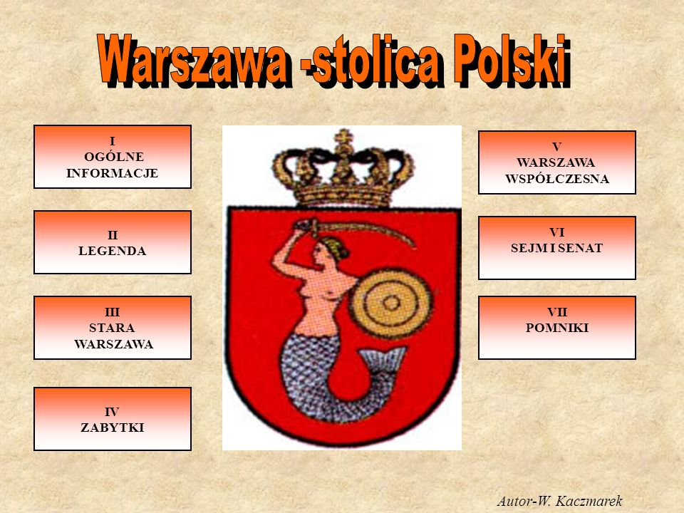 Warszawa -stolica Polski