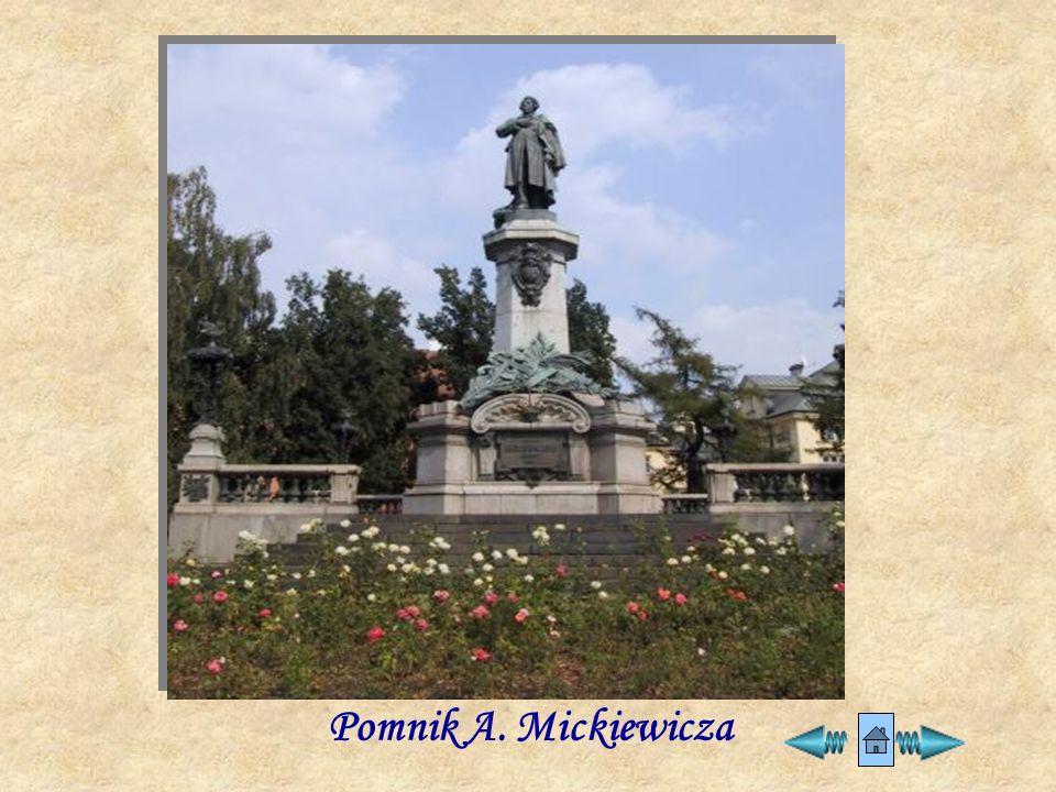 Pomnik A. Mickiewicza