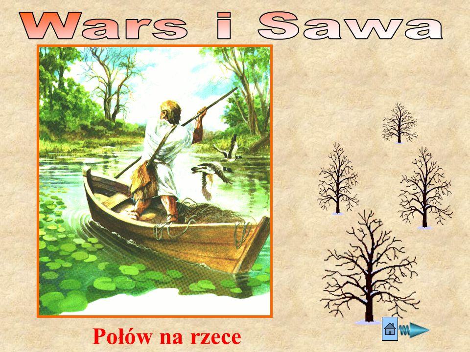 Wars i Sawa Połów na rzece