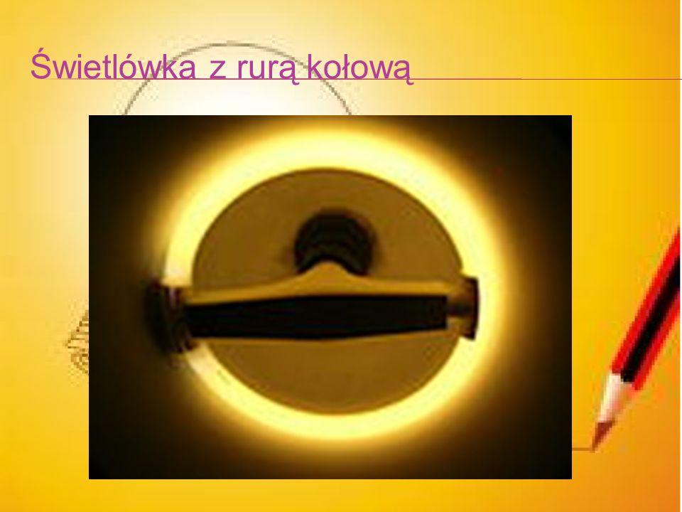 Świetlówka z rurą kołową