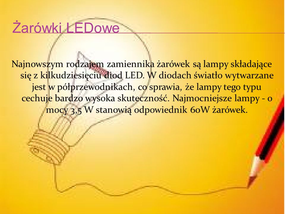 Żarówki LEDowe
