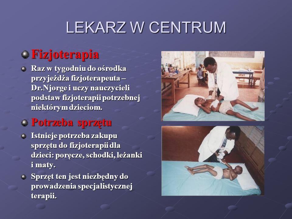 LEKARZ W CENTRUM Fizjoterapia Potrzeba sprzętu