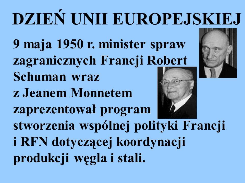 DZIEŃ UNII EUROPEJSKIEJ