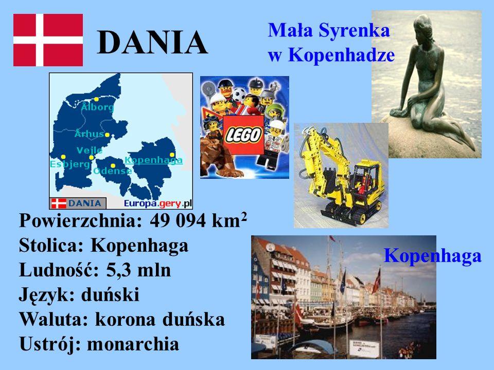 DANIA Mała Syrenka w Kopenhadze