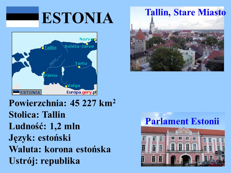 ESTONIA Tallin, Stare Miasto