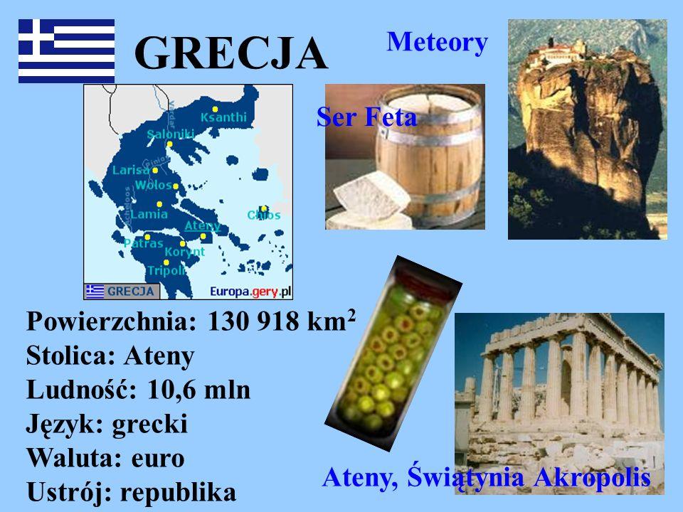 GRECJA Meteory Ser Feta