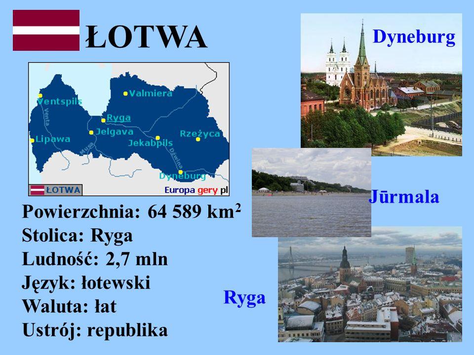 ŁOTWA Dyneburg Jūrmala