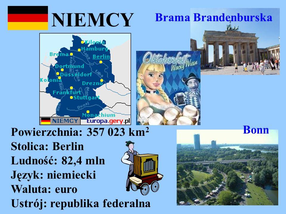 NIEMCY Brama Brandenburska Bonn