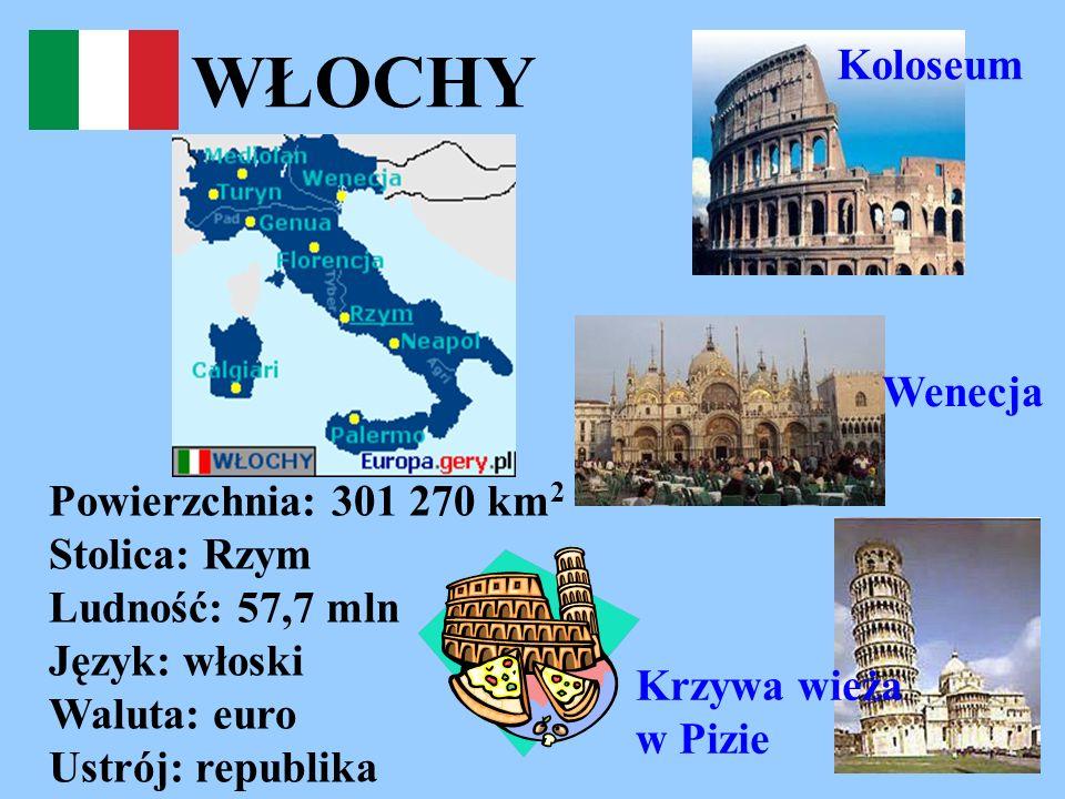 WŁOCHY Koloseum Wenecja