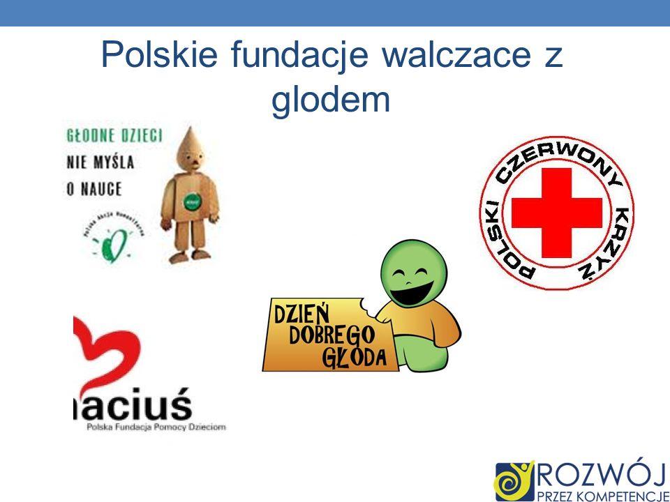 Polskie fundacje walczace z glodem