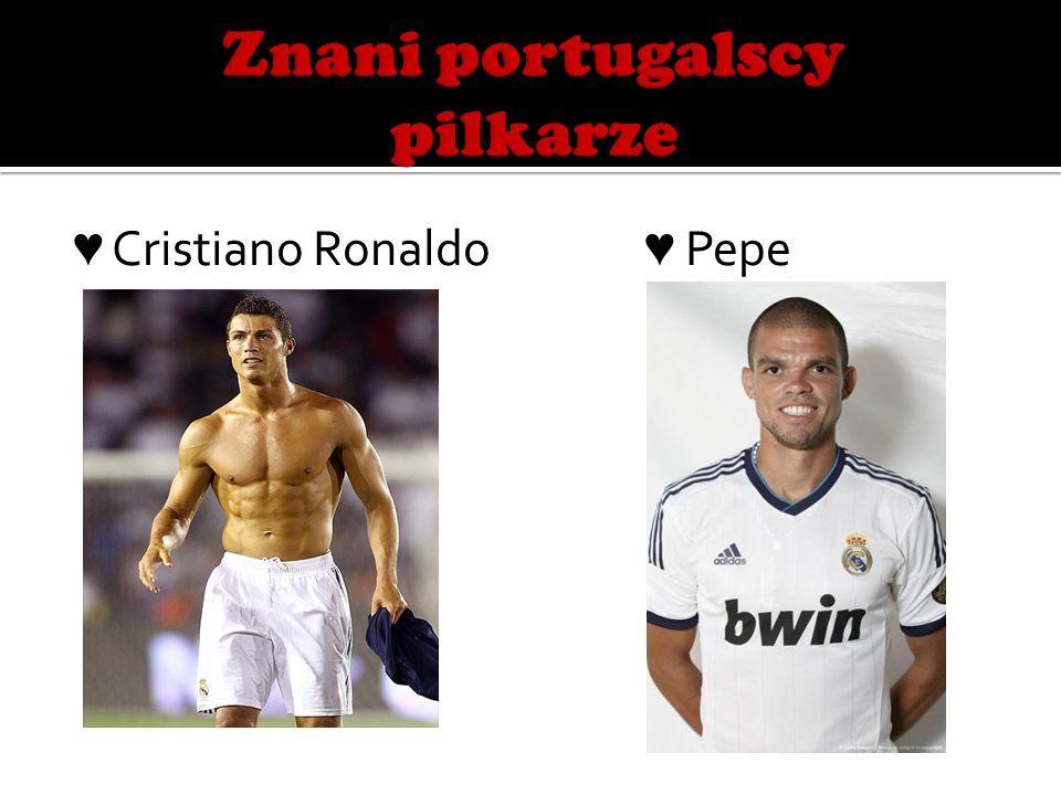 Znani portugalscy pilkarze