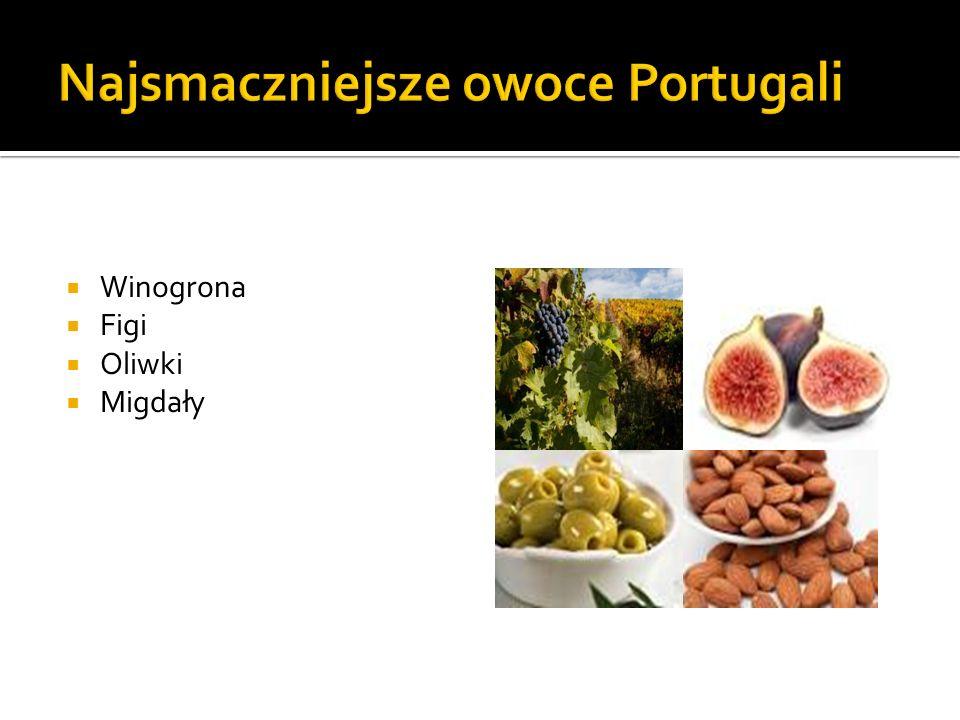 Najsmaczniejsze owoce Portugali