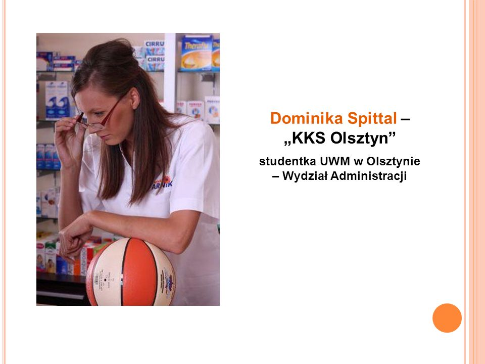 studentka UWM w Olsztynie – Wydział Administracji