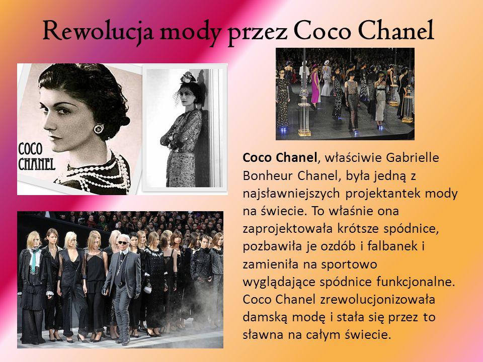Rewolucja mody przez Coco Chanel