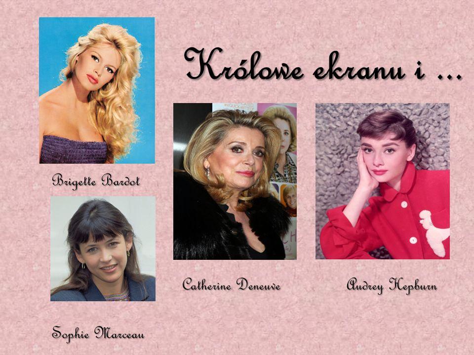 Królowe ekranu i ... Brigette Bardot Catherine Deneuve Audrey Hepburn