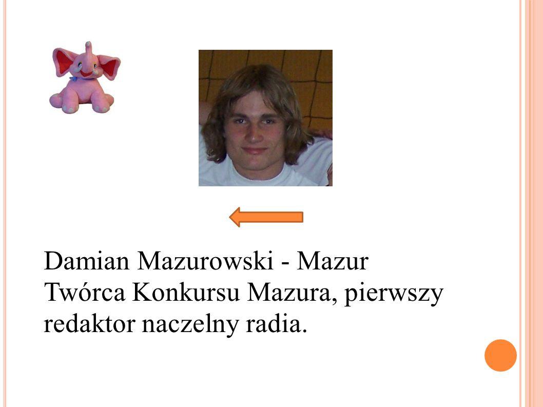 Damian Mazurowski - Mazur