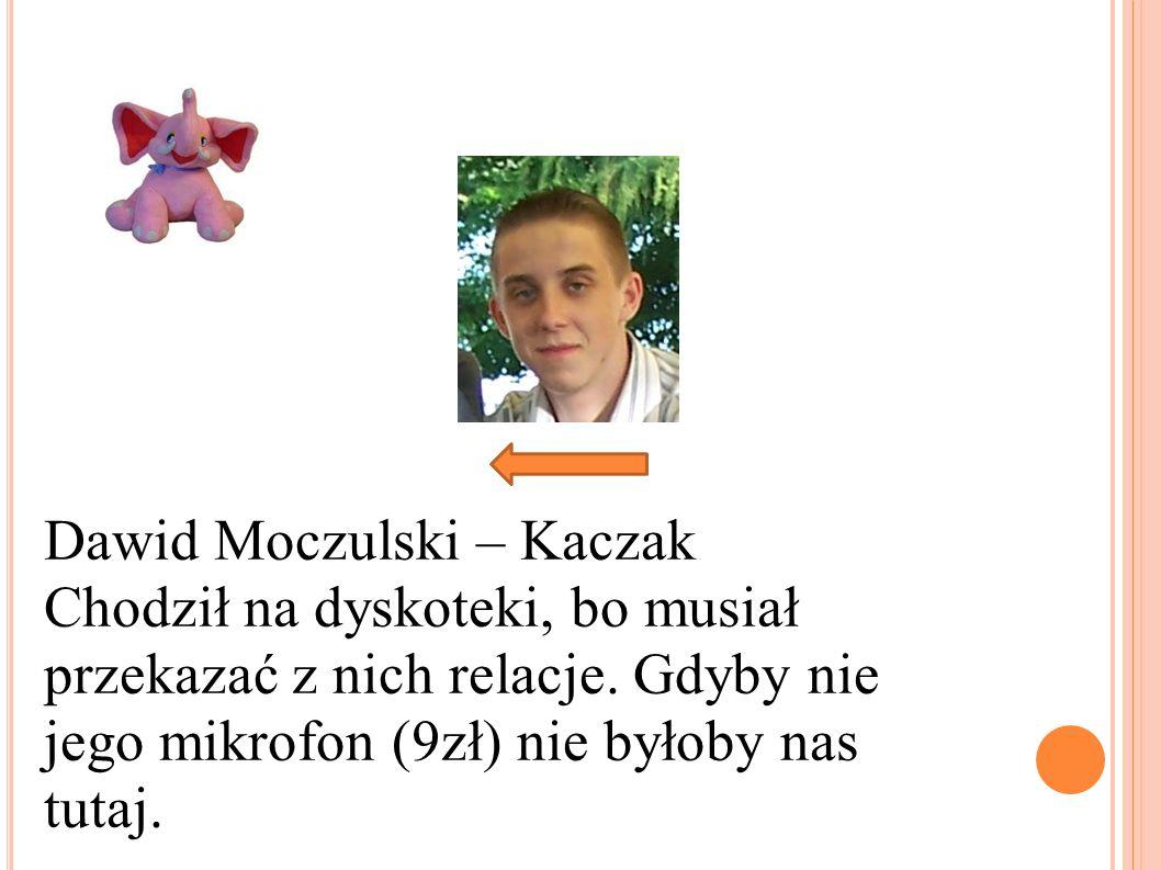 Dawid Moczulski – Kaczak