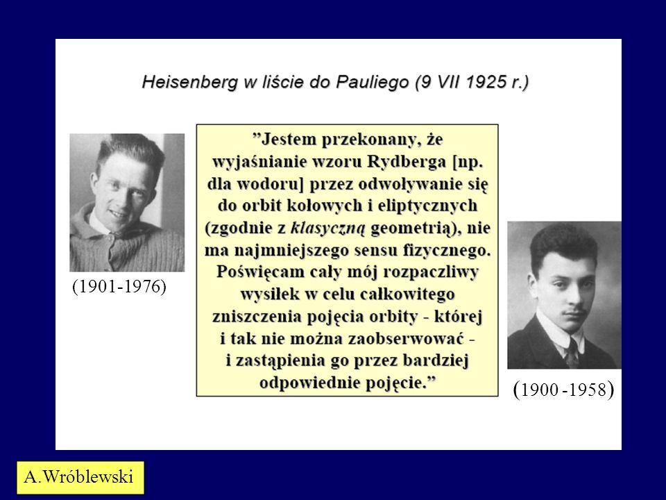 (1901-1976) (1900 -1958) A.Wróblewski