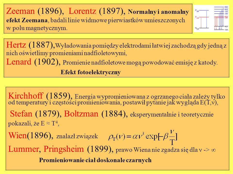 Lenard (1902), Promienie nadfioletowe mogą powodować emisję z katody.