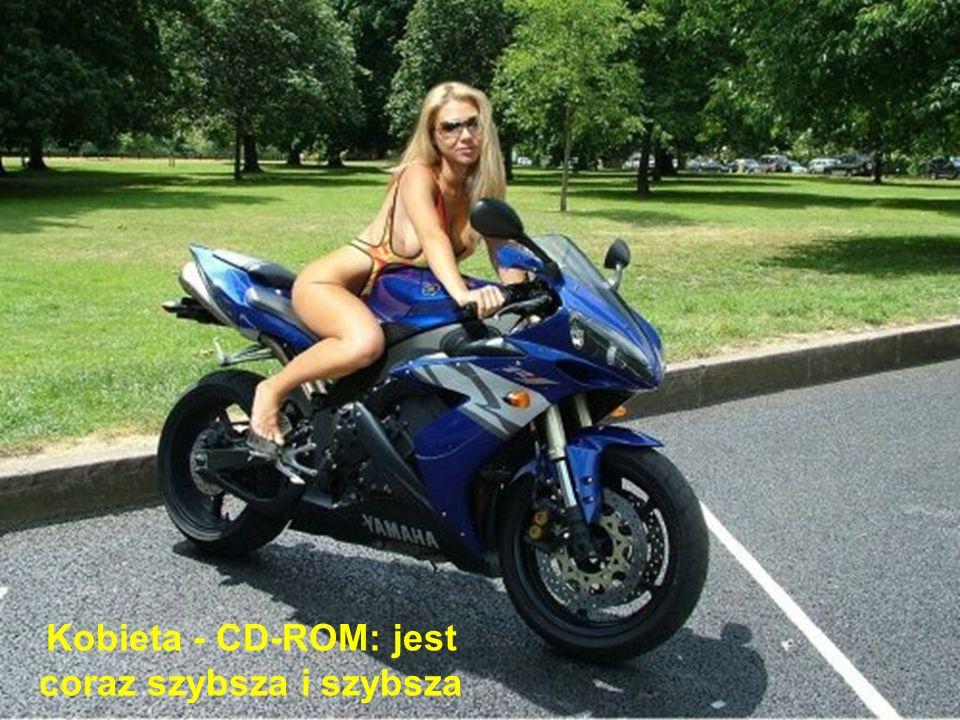 Kobieta - CD-ROM: jest coraz szybsza i szybsza