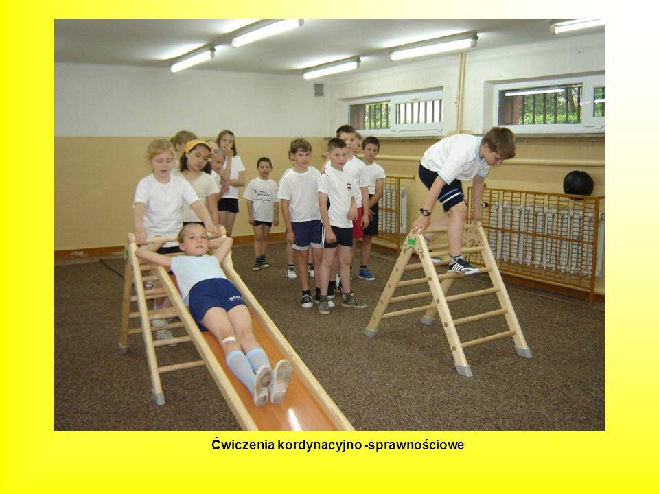 Ćwiczenia kordynacyjno -sprawnościowe