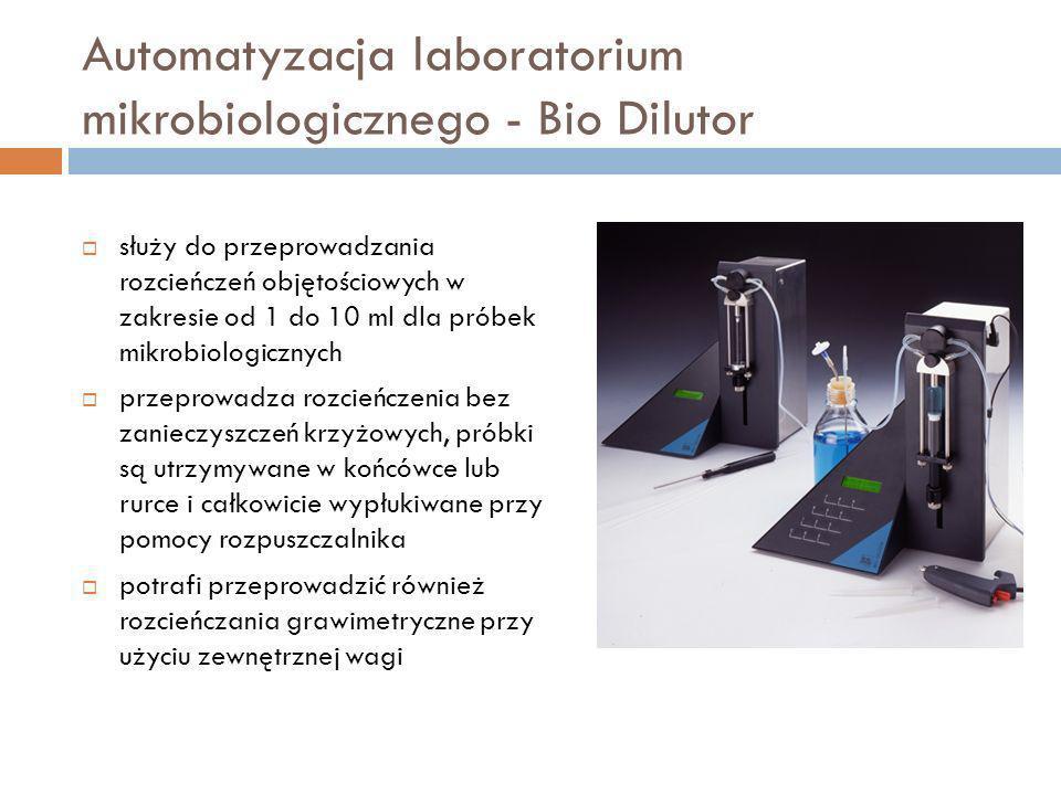 Automatyzacja laboratorium mikrobiologicznego - Bio Dilutor