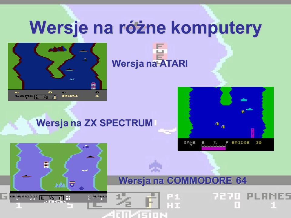 Wersje na różne komputery