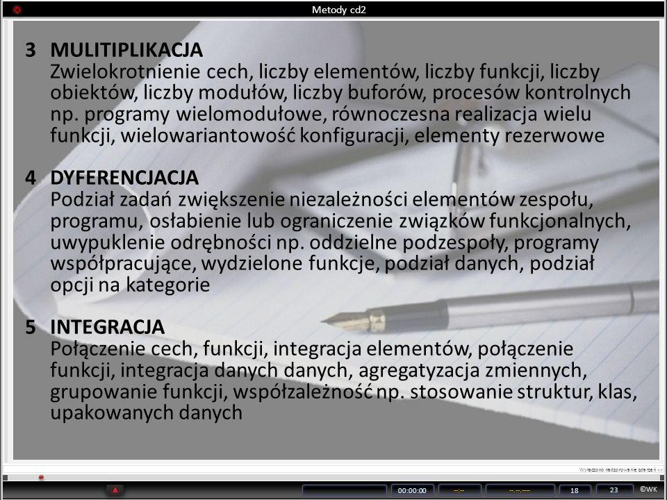 Metody cd2 MULITIPLIKACJA.