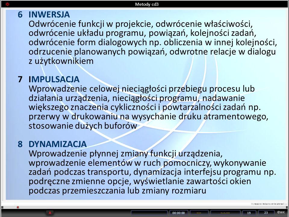Metody cd3 INWERSJA.