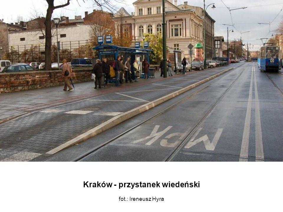 Kraków - przystanek wiedeński fot.: Ireneusz Hyra