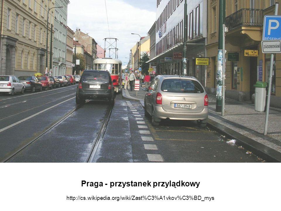 Praga - przystanek przylądkowy http://cs. wikipedia