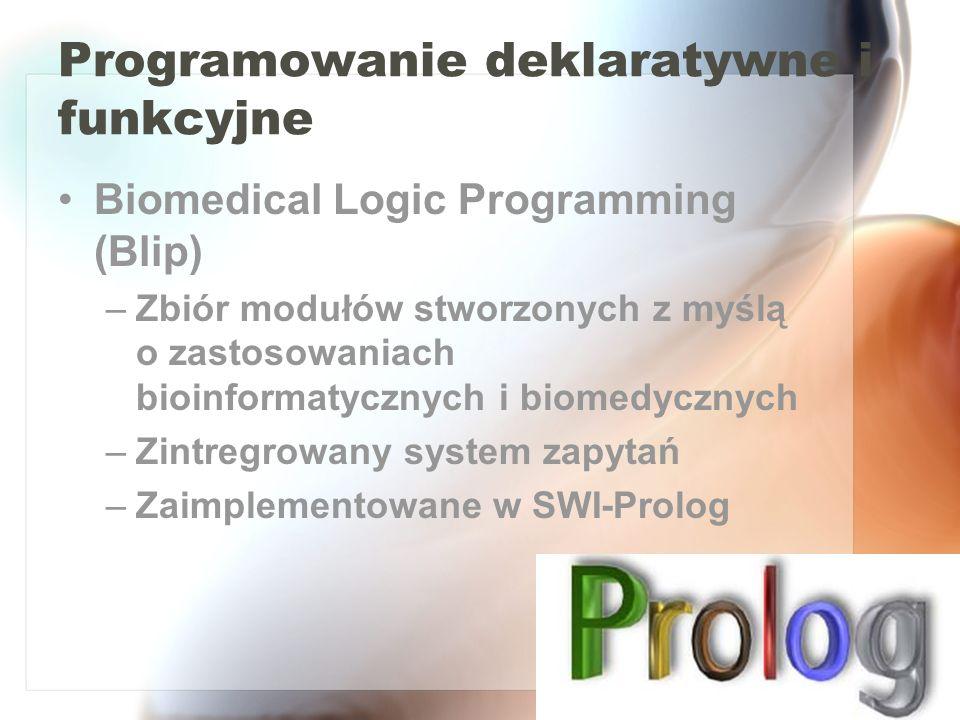 Programowanie deklaratywne i funkcyjne