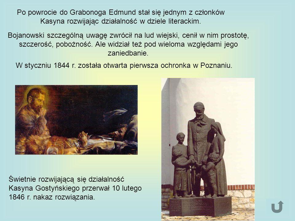 W styczniu 1844 r. została otwarta pierwsza ochronka w Poznaniu.