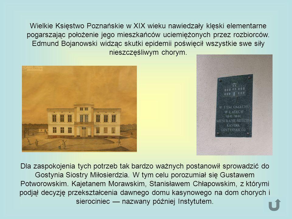 Wielkie Księstwo Poznańskie w XIX wieku nawiedzały klęski elementarne pogarszając położenie jego mieszkańców uciemiężonych przez rozbiorców.