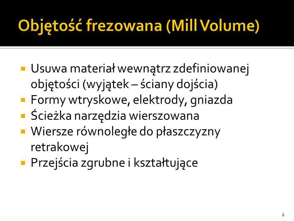Objętość frezowana (Mill Volume)