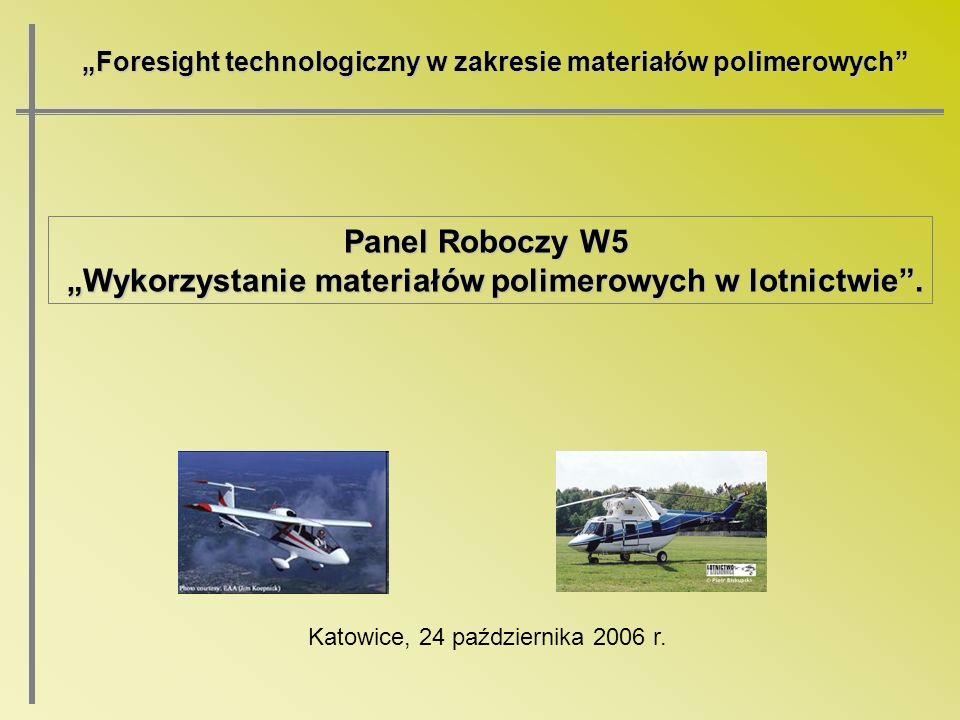 """""""Wykorzystanie materiałów polimerowych w lotnictwie ."""