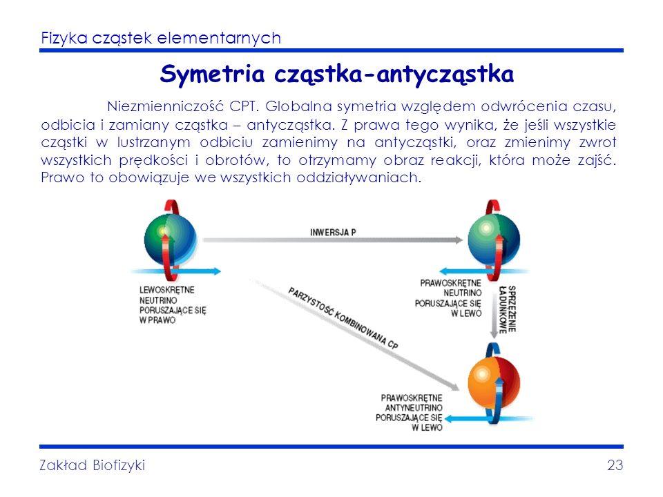 Symetria cząstka-antycząstka
