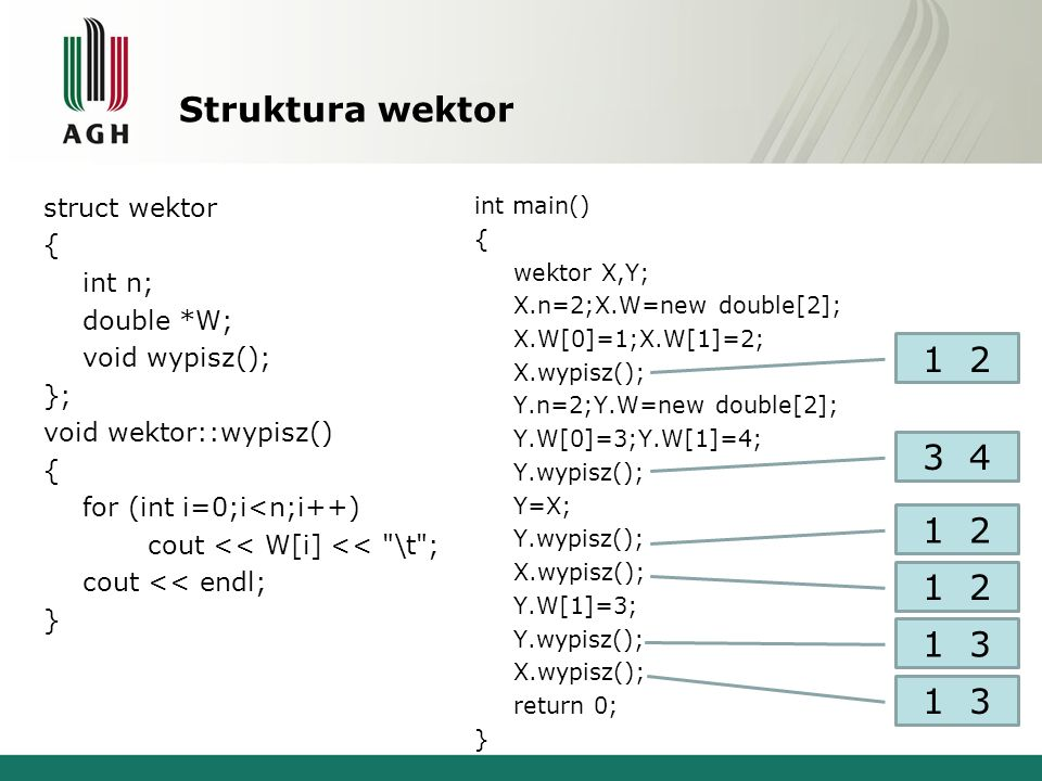 Struktura wektor