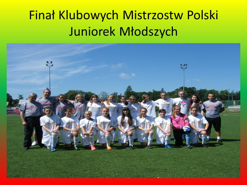 Finał Klubowych Mistrzostw Polski Juniorek Młodszych